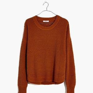 NWOT Madewell Parkhouse Pullover Sweater